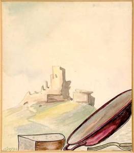Miloš_Volf, Burg und Hunger
