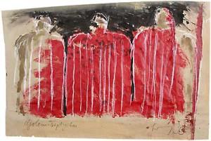 Theo Scherling, Golem Triptychon