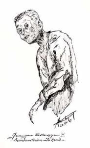 Henk Verheyen, Gefangener